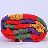 Гамак мексиканський 200*80 смугастий кольоровий, фото 4