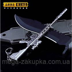 Брелок из игры PUBG M416 Assault Rifle Weapon Keychain