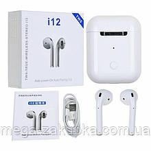 Бездротові навушники i12-TWS