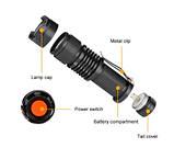Ультрафиолетовый фонарик 365нм, 5W, фото 2