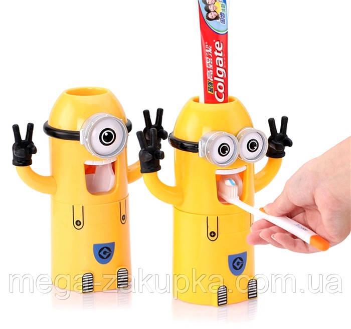Дозатор зубної пасти Міньйон