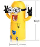 Дозатор зубної пасти Міньйон, фото 3