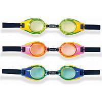 Очки для плаванья Intex детские 3-8лет
