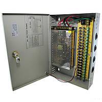 """Блоки питания (в металлическом боксе) PROLUM 180W 12V (IP20,15A,18CH) Series """"CCTV"""""""