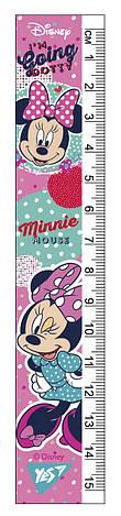 "Линейка YES 15см ""Minnie Mouse"", фото 2"