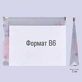 """Папка-конверт YES на блискавці B6 """"Мішанина Potch Forte"""", фото 2"""