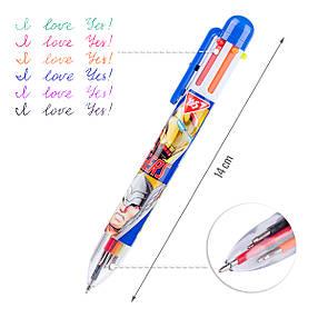 "Ручка шариковая YES ""Marvel"", 1,0 мм, 6 цветов, фото 2"