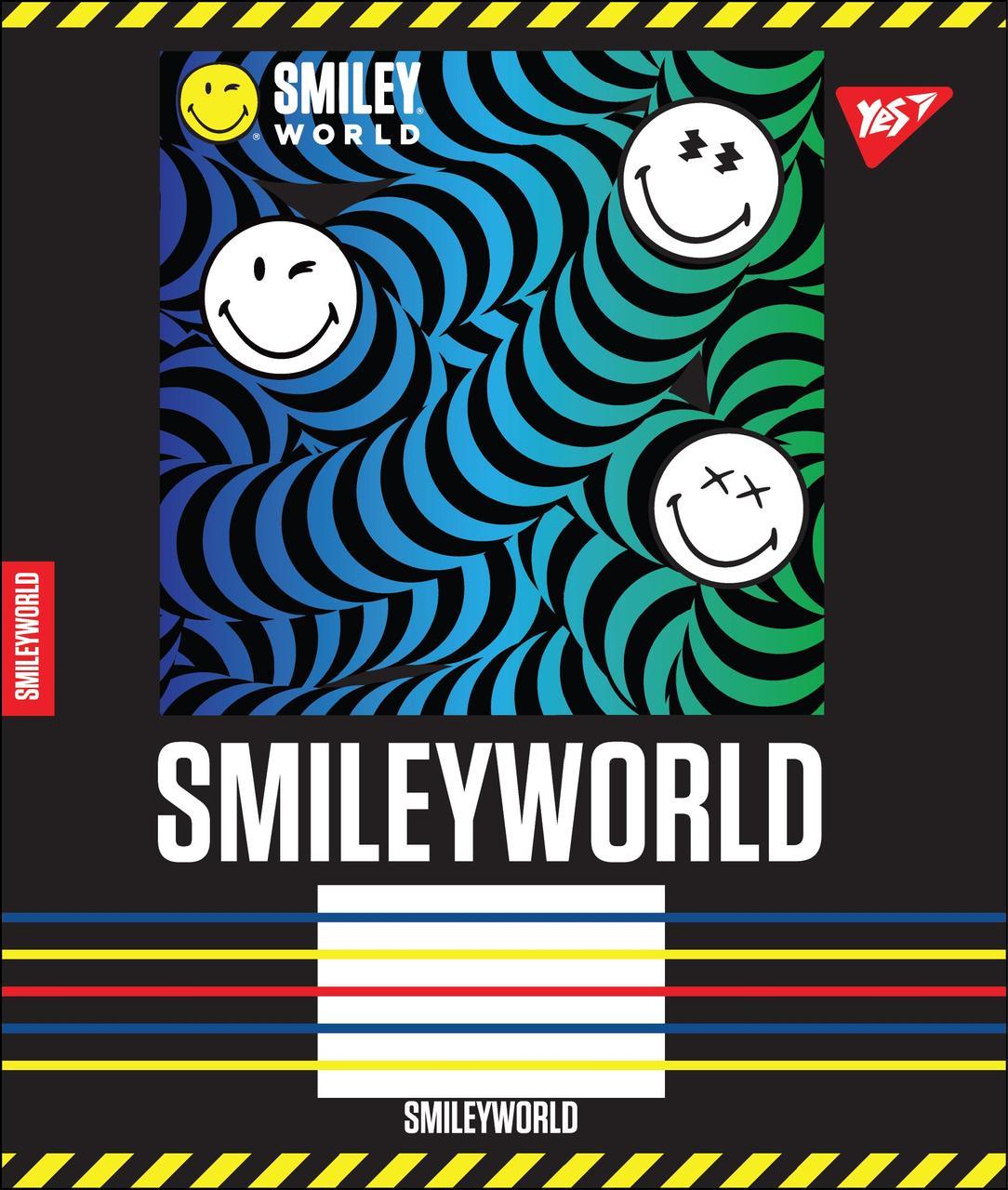 А5/24 лін. YES SMILEY WORLD, зошит учн.