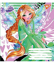 А5/12 лін. YES WINX FASHION, зошит ученич.