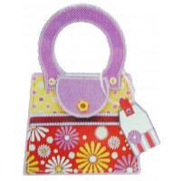 Набор для творчества Mota Сумочка с украшениями, с цветами и горошком (H-101-5)