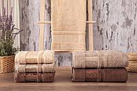 Полотенца бамбуковые 70*140 (3шт) 550г/м2 (TM Zeron) Agac Bamboo, Турция 1374180611