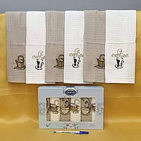 Кухонні рушники Вафельні ( TM ZERON) 40*60 (6шт)