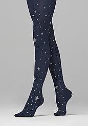 """Отзывы (2 шт) о Faberlic Колготки детские с принтом """"Звезды"""" плотность 50 den цвет темно-синий Cosmic"""