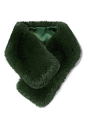 Отзывы (3 шт) о Faberlic Горжетка из искуственного меха цвет изумрудный Premium арт 600477