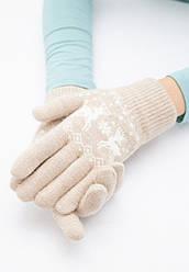 Отзывы (4 шт) о Faberlic Перчатки с новогодним узором цвет бежевый арт 600633