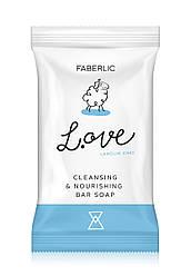 Faberlic фігурне Мило Овечка: очищення і живлення L OVE арт 2729