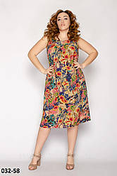 Летнее платье женское легкое модное