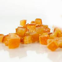 """Цукати зацукровані """"Апельсинові кубики"""" кубики 6*6 мм (100 г)"""