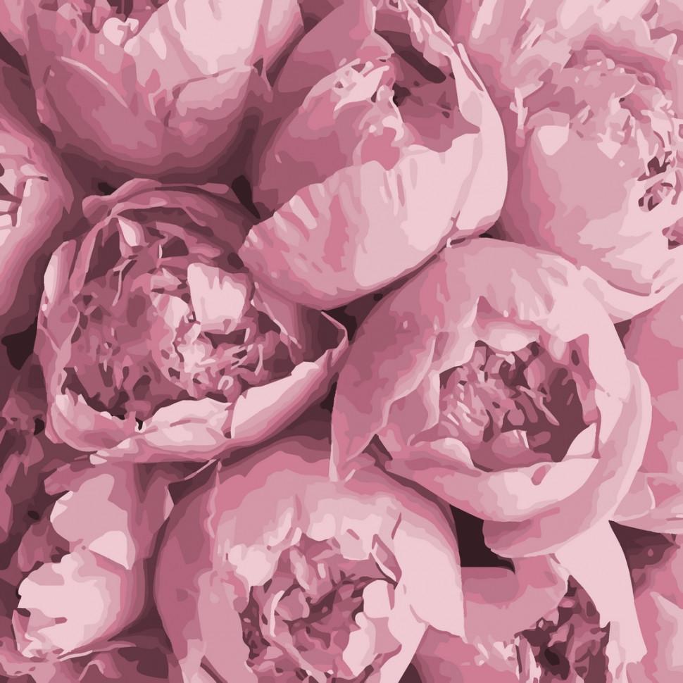 """Картина за номерами. Art Craft """"Рожева ніжність"""" 40*40 см 13103-AC"""