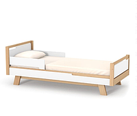 Кровать подростковая Верес Манхеттен Бело-буковый 190х80 см