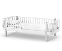 Кровать подростковая Верес Монако бело-серая 190х80 см