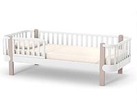 Кровать подростковая Верес Монако Капучино-белая 190х80 см