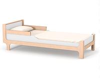 Кровать подростковая Верес Ницца Бело-буковая 190х80 см