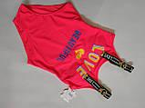 Купальник  подростковый 2060 FUBA  Бьютифул розовый(В НАЛИЧИИ ТОЛЬКО   34 36 38 40 42      размеры), фото 5