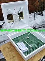 Інкубатор Квочка МІ-30 ручний, мембранний регульований 70 яєць, фото 1