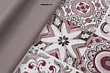 Однотонна тканина Duck сірого кольору (теплий тон), фото 4