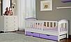 """Дитяче ліжко """"Мурка"""" з натурального дерева, фото 4"""