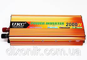 Преобразователь напряжения авто инвертор  UKC 12V в 220V 2000W