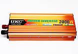 Преобразователь напряжения авто инвертор  UKC 12V в 220V 2000W, фото 3