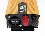Преобразователь напряжения авто инвертор  UKC 12V в 220V 2000W, фото 4