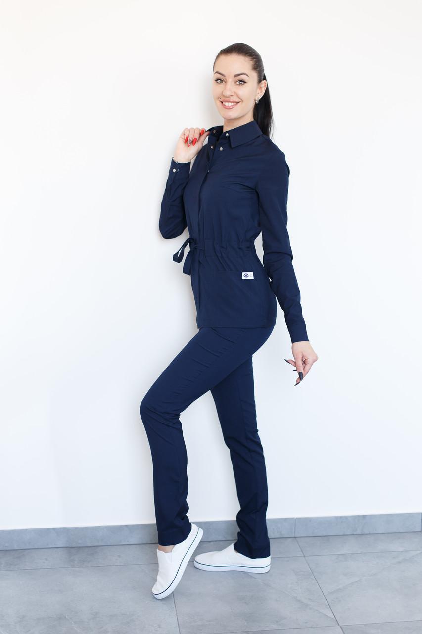 Медичний костюм Монтана темно-синій