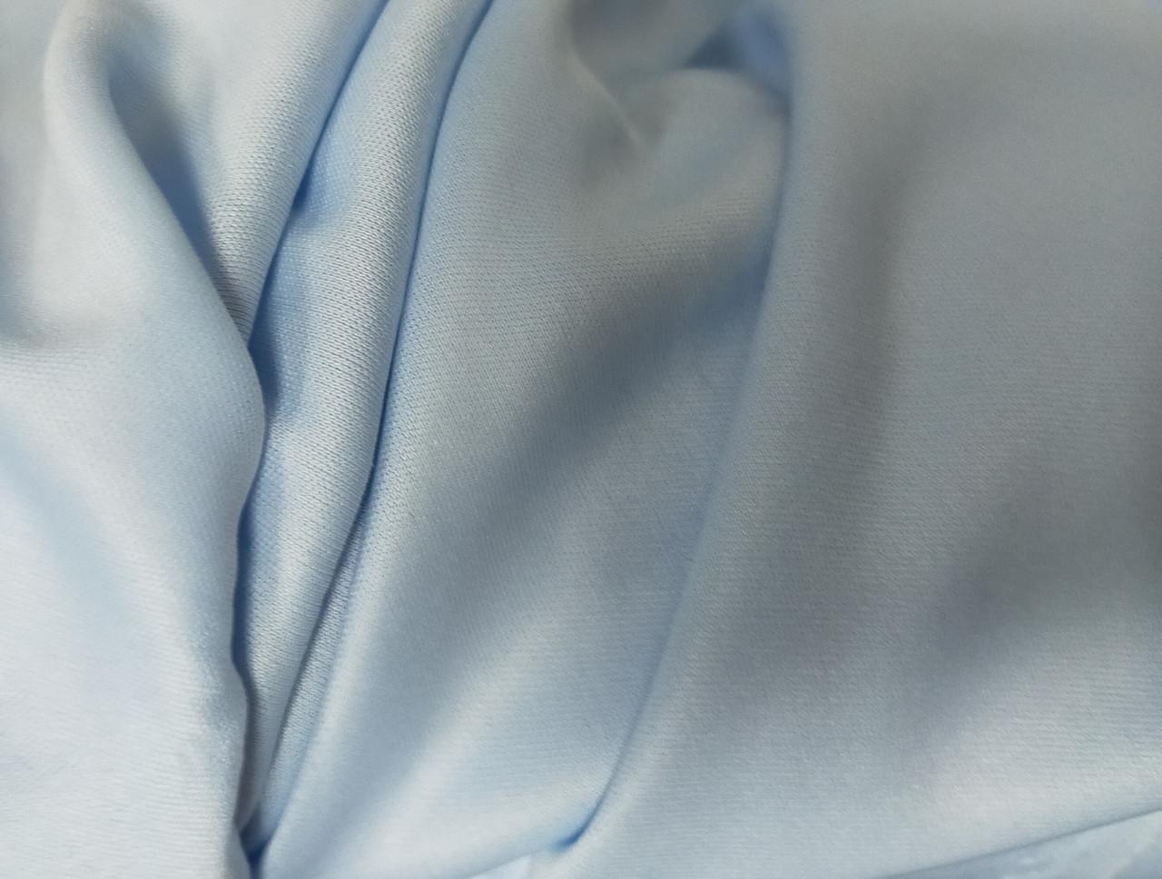 Підкладка трикотажна,  ширина 150см колір голубий