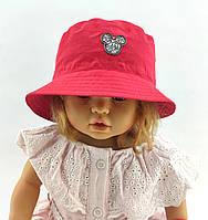 Дитяча панамка 46 48 50 52 розмір для дівчинки дитячі панамки головні убори бавовна панама, фото 1