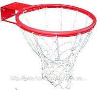 Кольцо баскетбольное арт.С1810 диаметр 46см +сетка