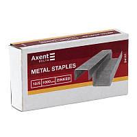 Скобы для степлера № 10 AXENT Delta 4101 1000шт