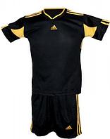 Форма футбольная Matsа черно-красная S, M,  L, XL