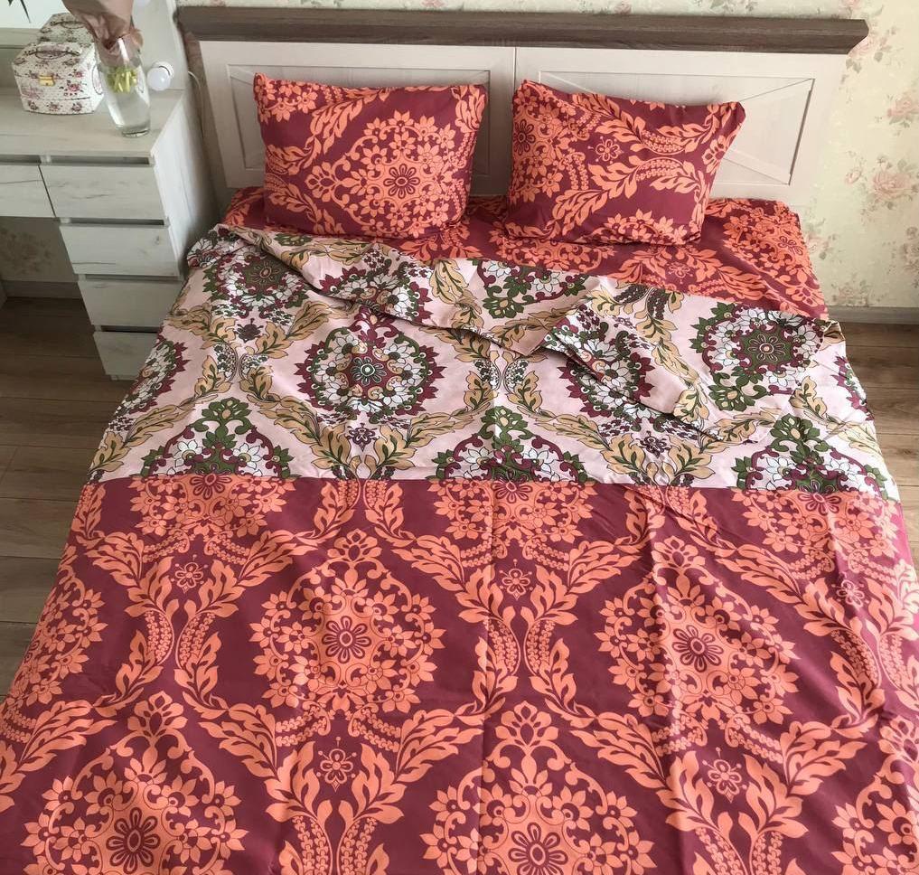 Полуторный комплект постельного белья орнамент