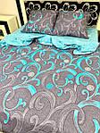 Постільна білизна двоспальне Смарагд, фото 3