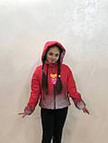 Демисезонная светоотражающая куртка 36-42р от производителя, фото 8