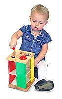 Развивающая игрушка Melissa&Doug Стучалка Забей шарик развивает координацию движений внимание точность
