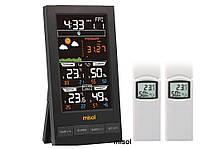 Домашня метеостанція Misol WN2810-W2T з 2-ма бездротовими дачиками