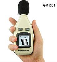 Цифровий шумомір Benetech GM1351 (SR5451) ( 30 — 130 dB), фото 1