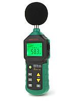 Шумомір Mastech MS6700 (30-130 dB) в пило і вологозахищеному прогумованому корпусі