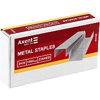 Скобы для степлера № 24/6 AXENT Delta 4102 1000шт