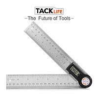 Кутомір електронний ( транспортир, малка ) TACKlife MDA01 c лінійкою 200 мм
