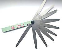 Набір щупів для вимірювання зазорів Jinghua 100B 17 (0,02-1.00) 17 щупів 100 мм
